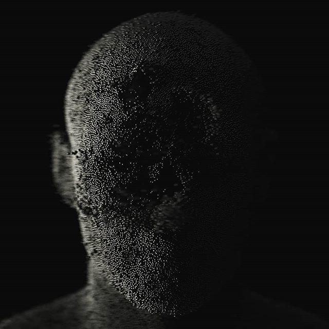 Connect the dots . . . #3d #render #design #cinema4d #c4d  #c4drender #mixedmediaart #animation #visual #visualart  #face #instagood #artofvisuals #ig_color #milliondollarvisuals #deathmetal #metall #digitalart #aov #hypebeast  #black #head #picoftheday