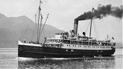 SS Princess Sophia   (Museum Exhibit Documentary, 2018) Maritime Museum of British Columbia Producer