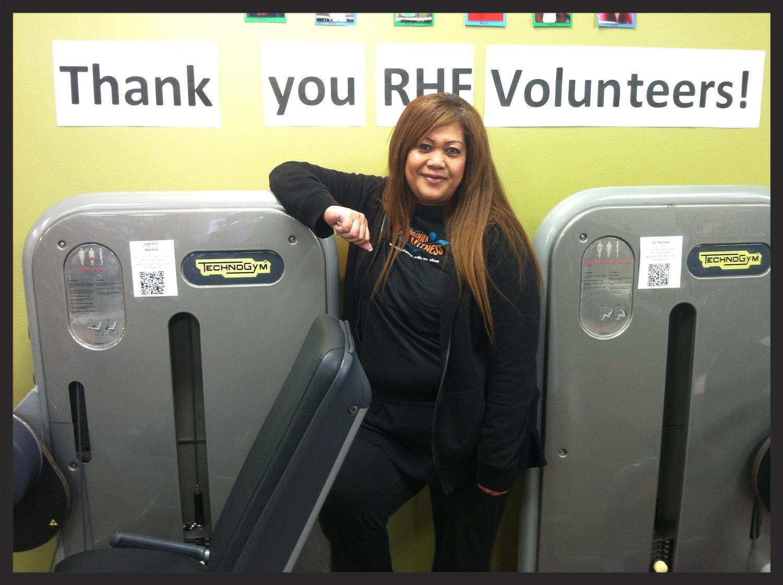 Rainier Health & Fitness Volunteer