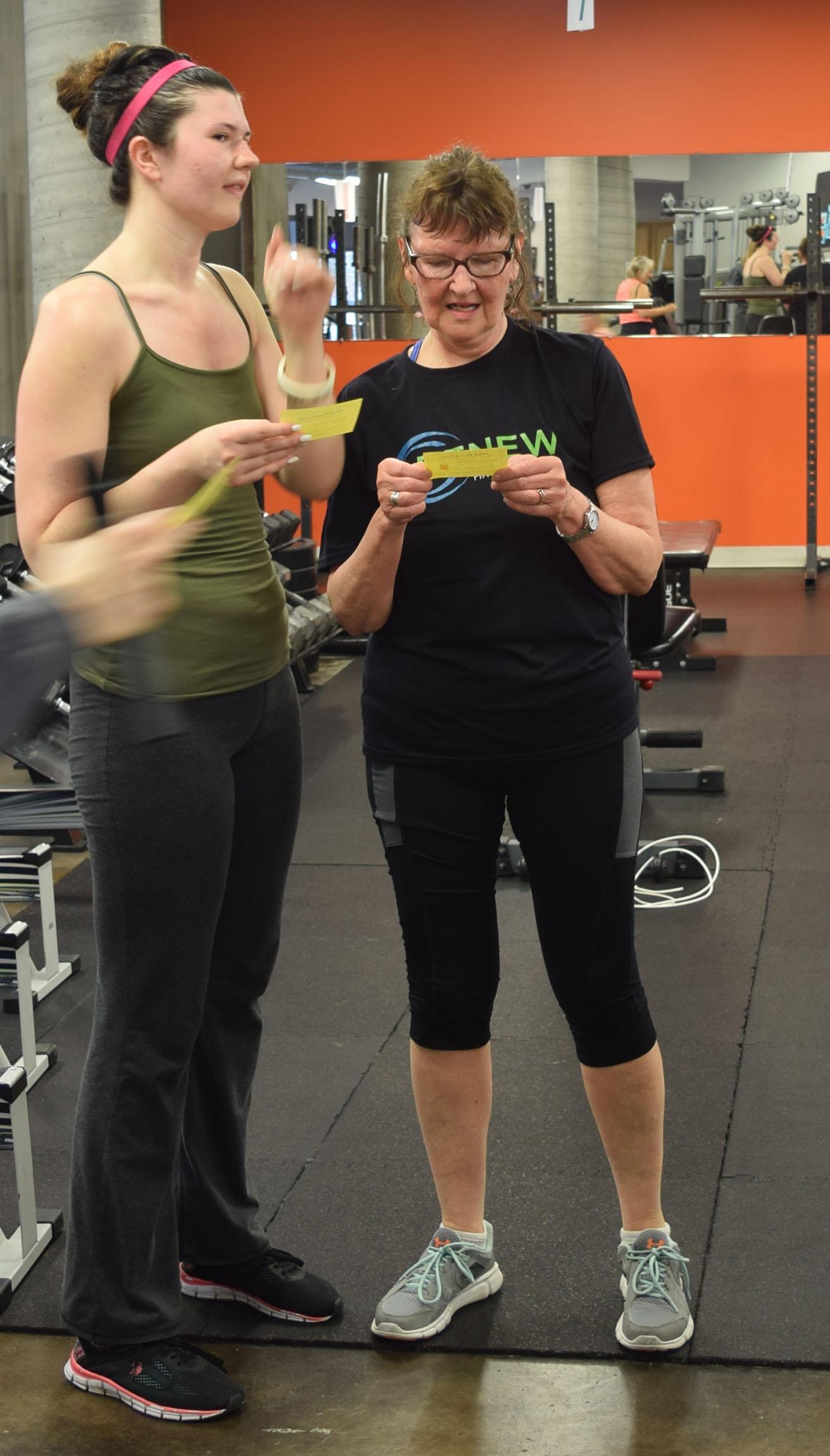 Fiona and Nancy at RHF's Member Appreciation