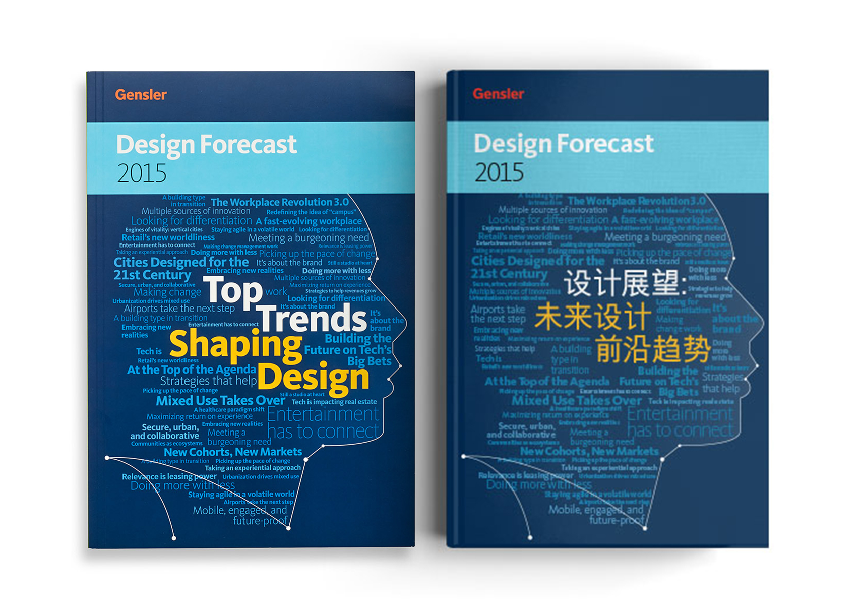 Design Forecast 2015 in English and Mandarin.