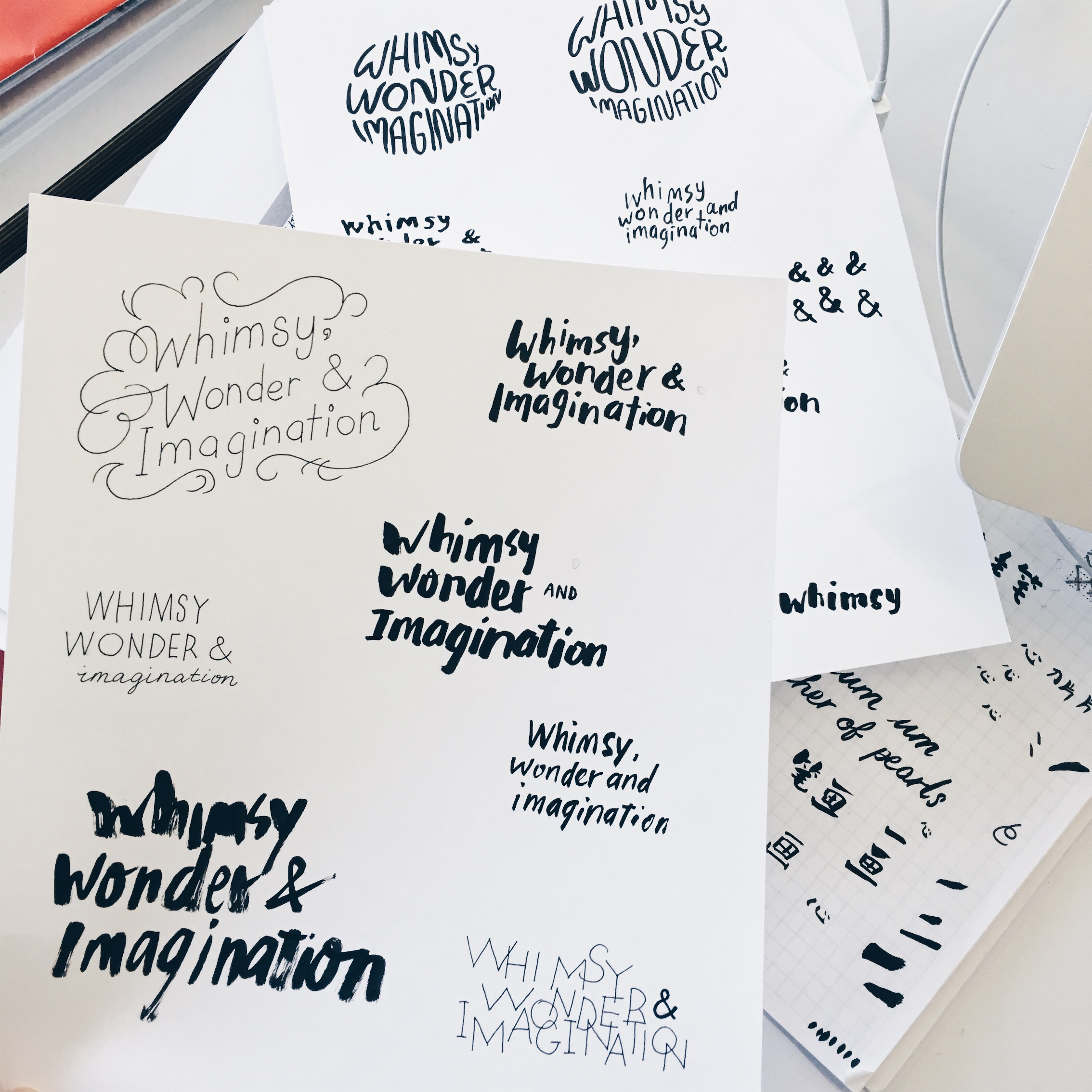 Various drafts
