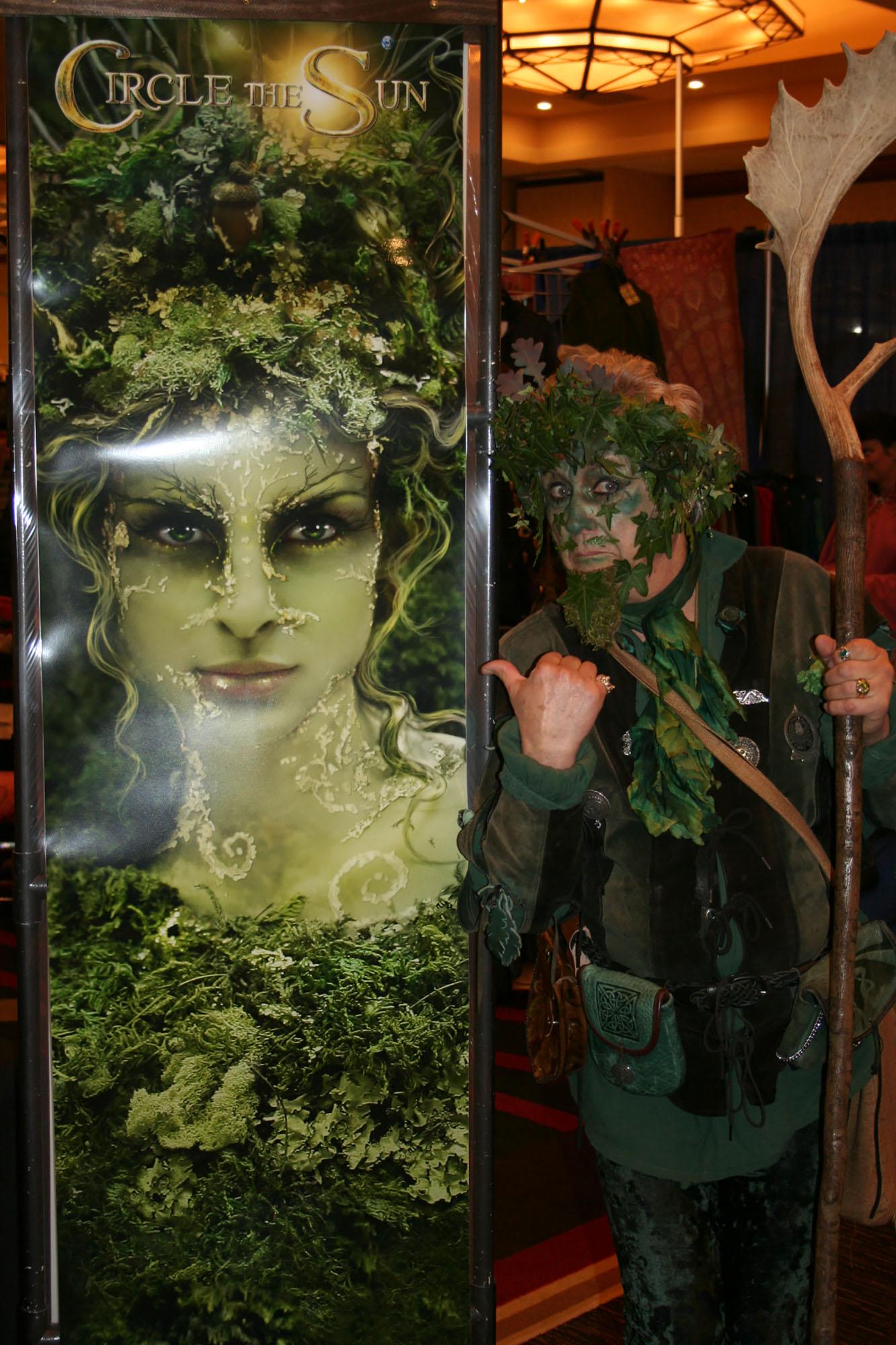 The GreenMan (Billy Scudder)
