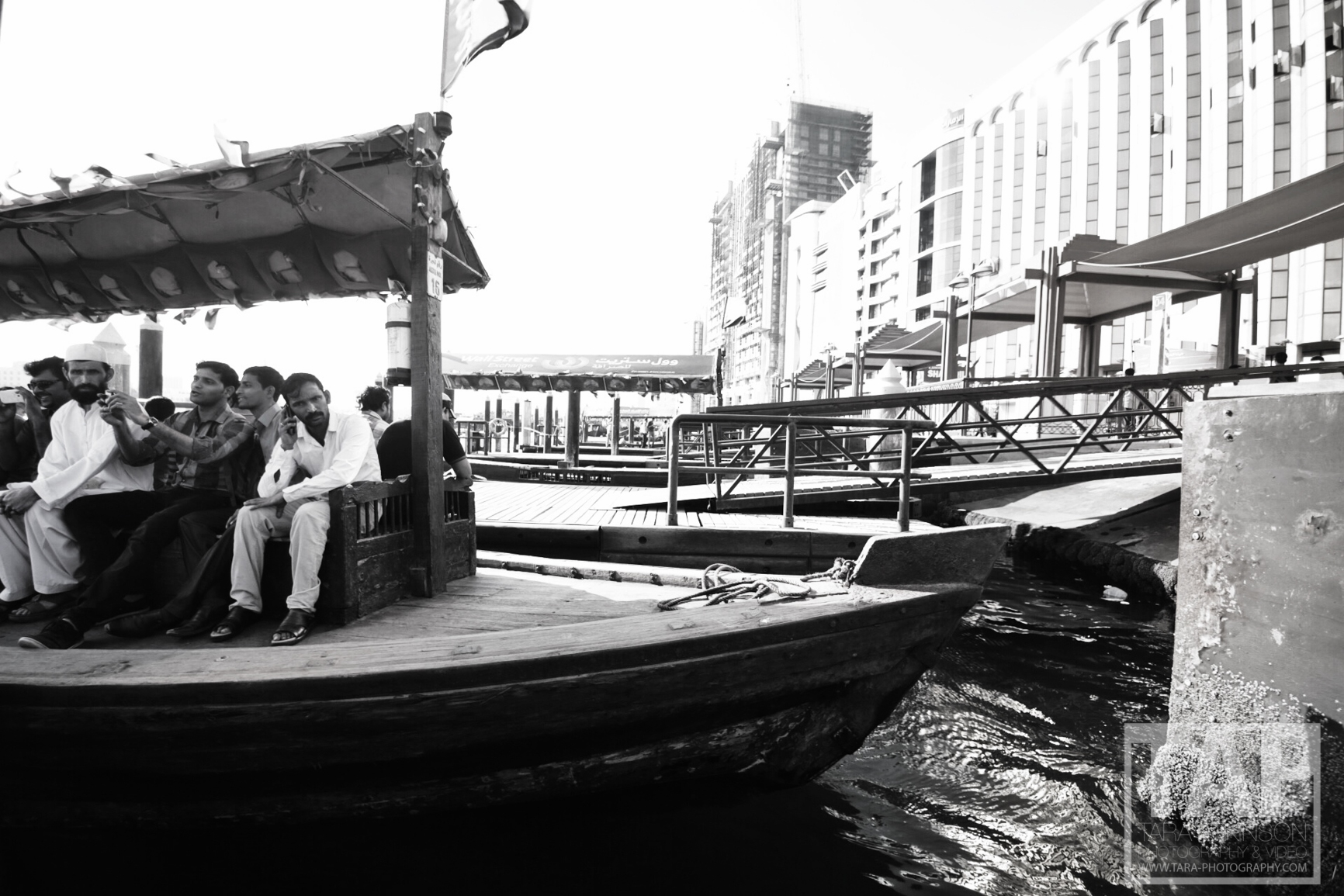 We walked further up to head over to Bur Dubai Souk at the abra station. To get from one side of the creek to the other abras aka ' water taxis' are used by tourists and workers.