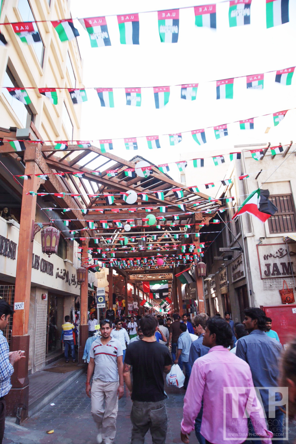 Even on a holiday some of the shops are still open and the souk is still busy
