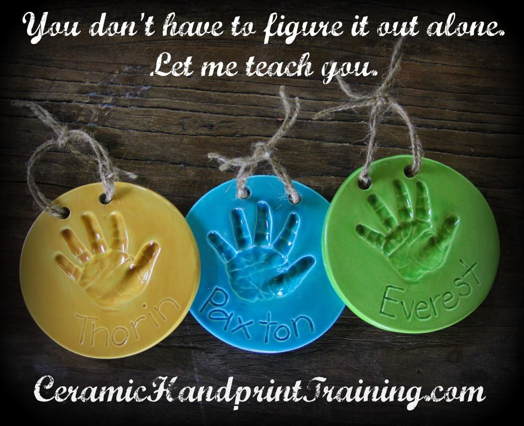 Ceramic Handprint Business