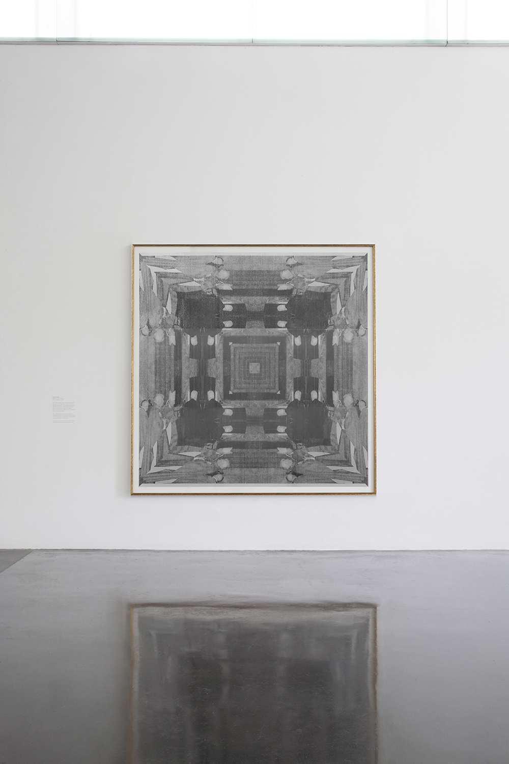 Matthew 23:23-28, pencil on paper, 205 x 210 cm, installation view at New Art Gallery Walsall
