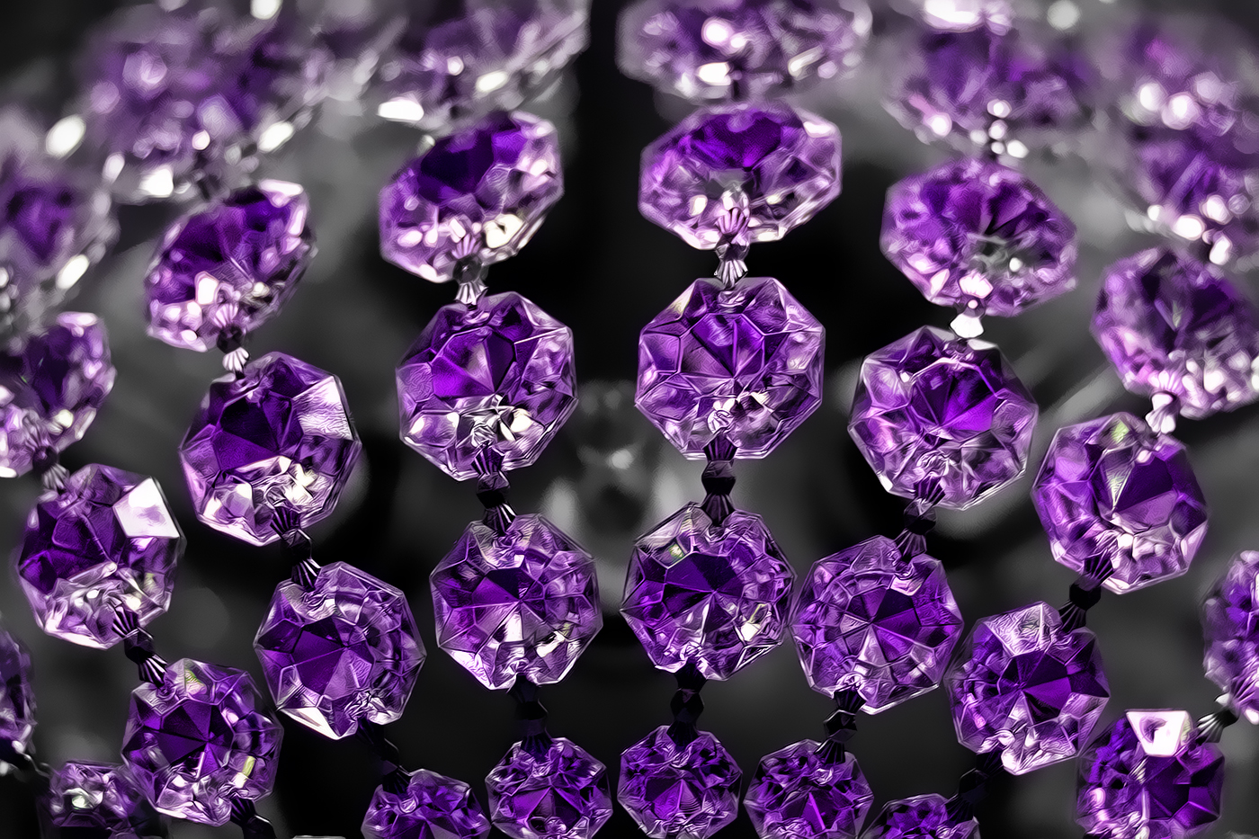 Purple Pendants