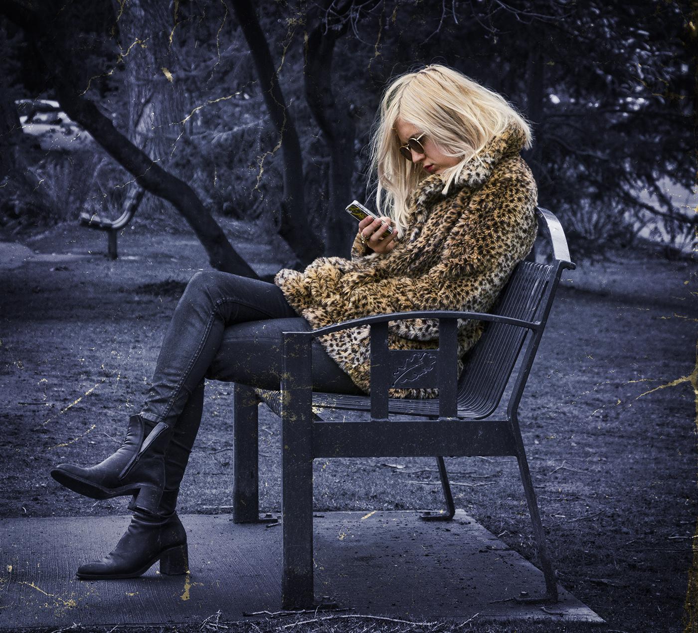 Leopard Blonde