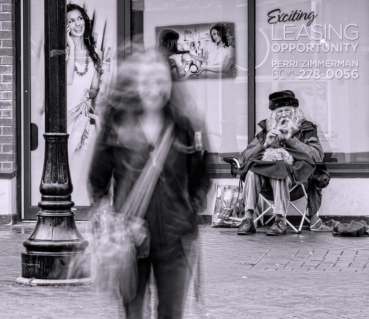 Phantom on Commercial Street