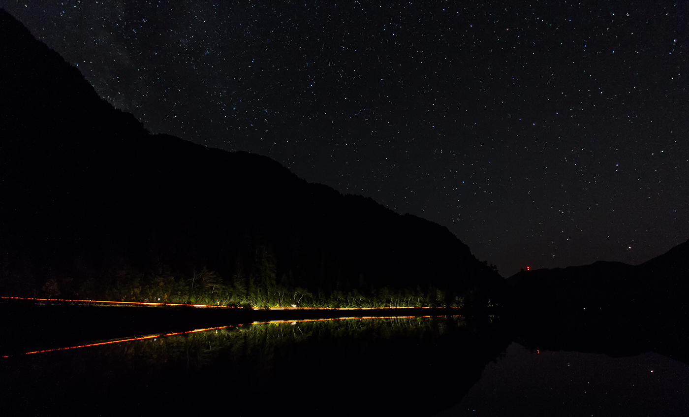 Cameron Lake Starscape