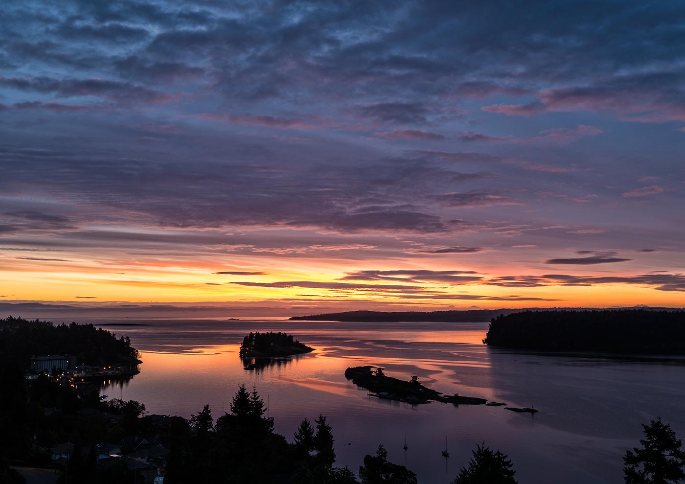 Departure Bay at dawn