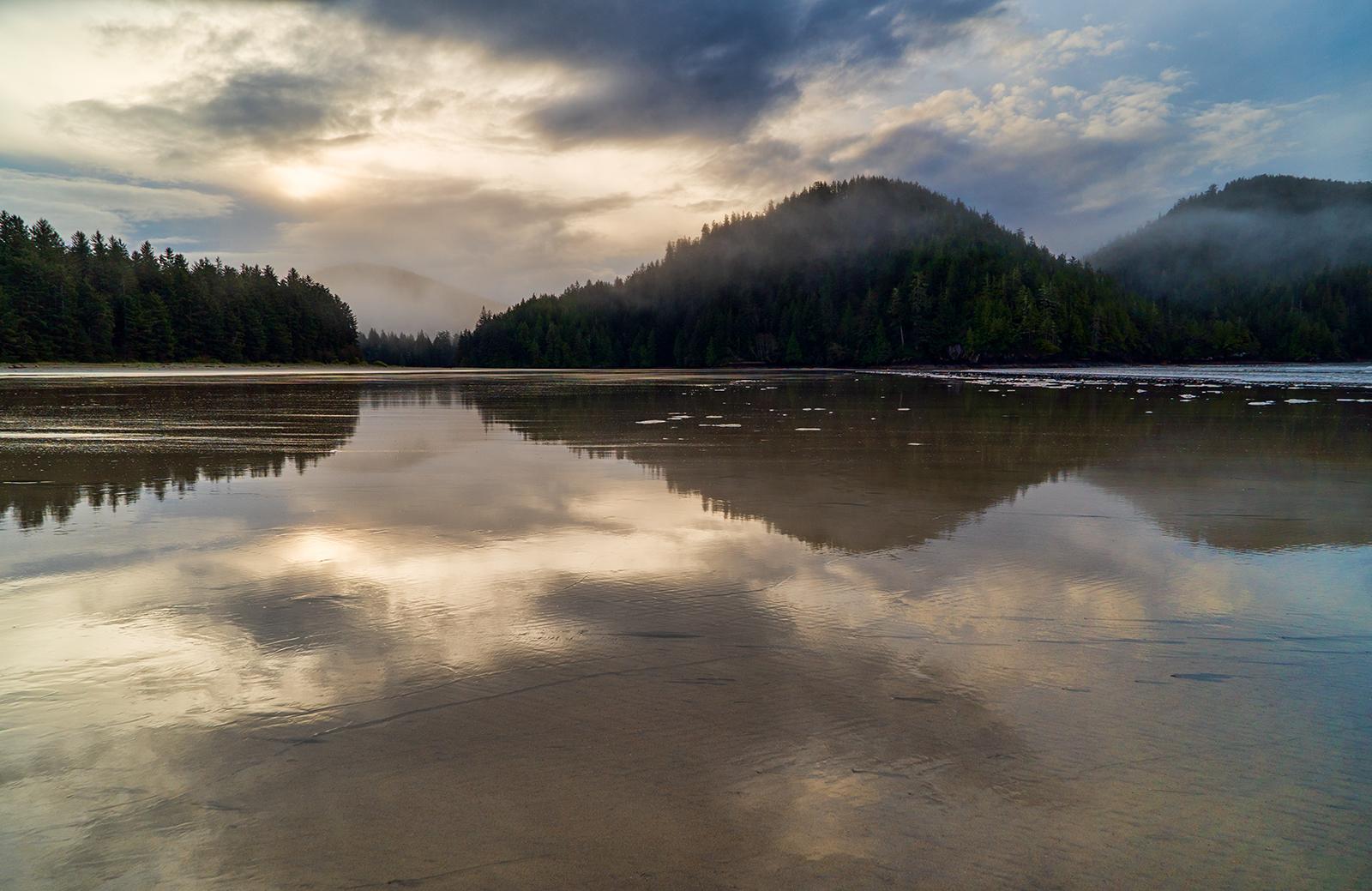Dawn At San Josef Bay
