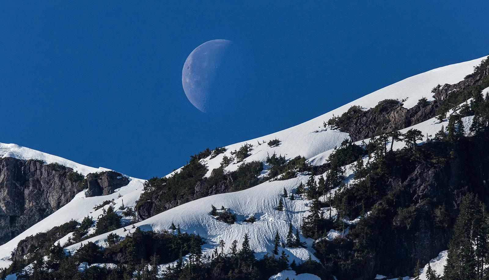 Nahmint Valley Moonset