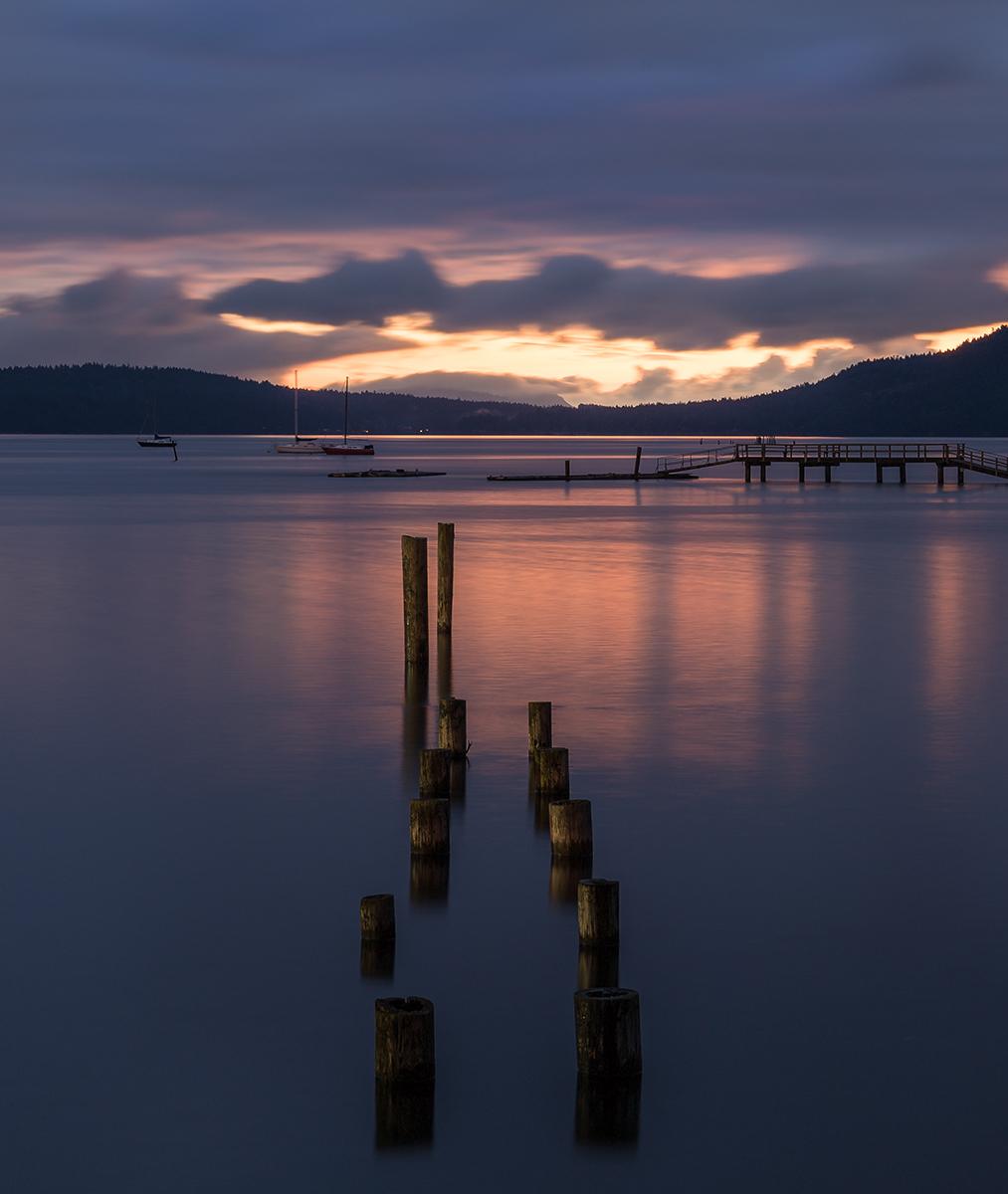 Sunrise Over Saltspring