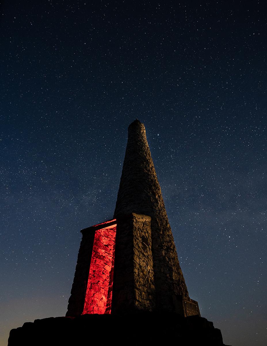 The War Cairn On Mount Prevost