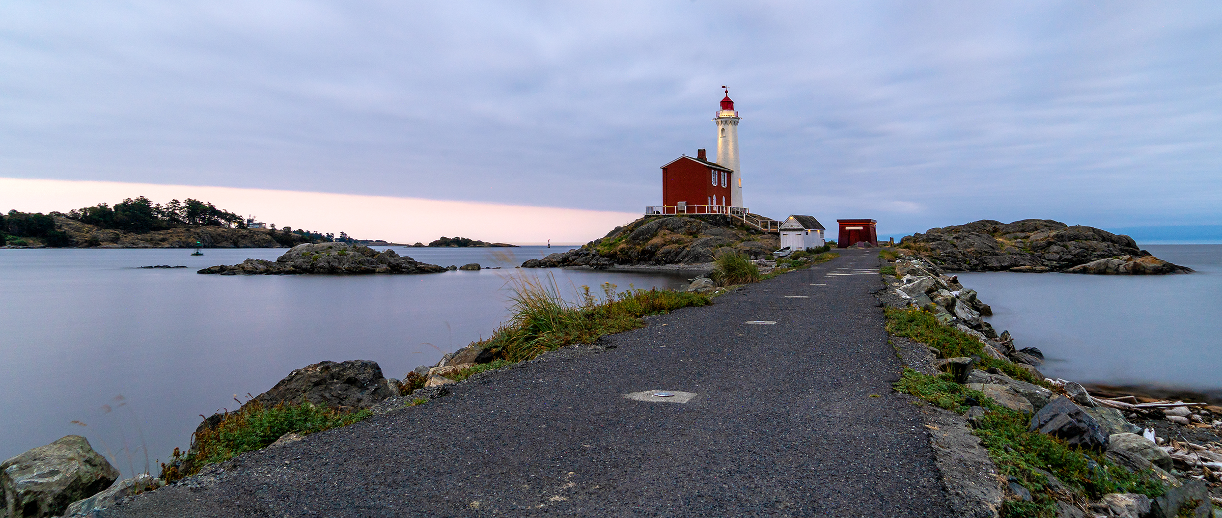 The Fisgard Lighthouse at Fort Rodd Hill
