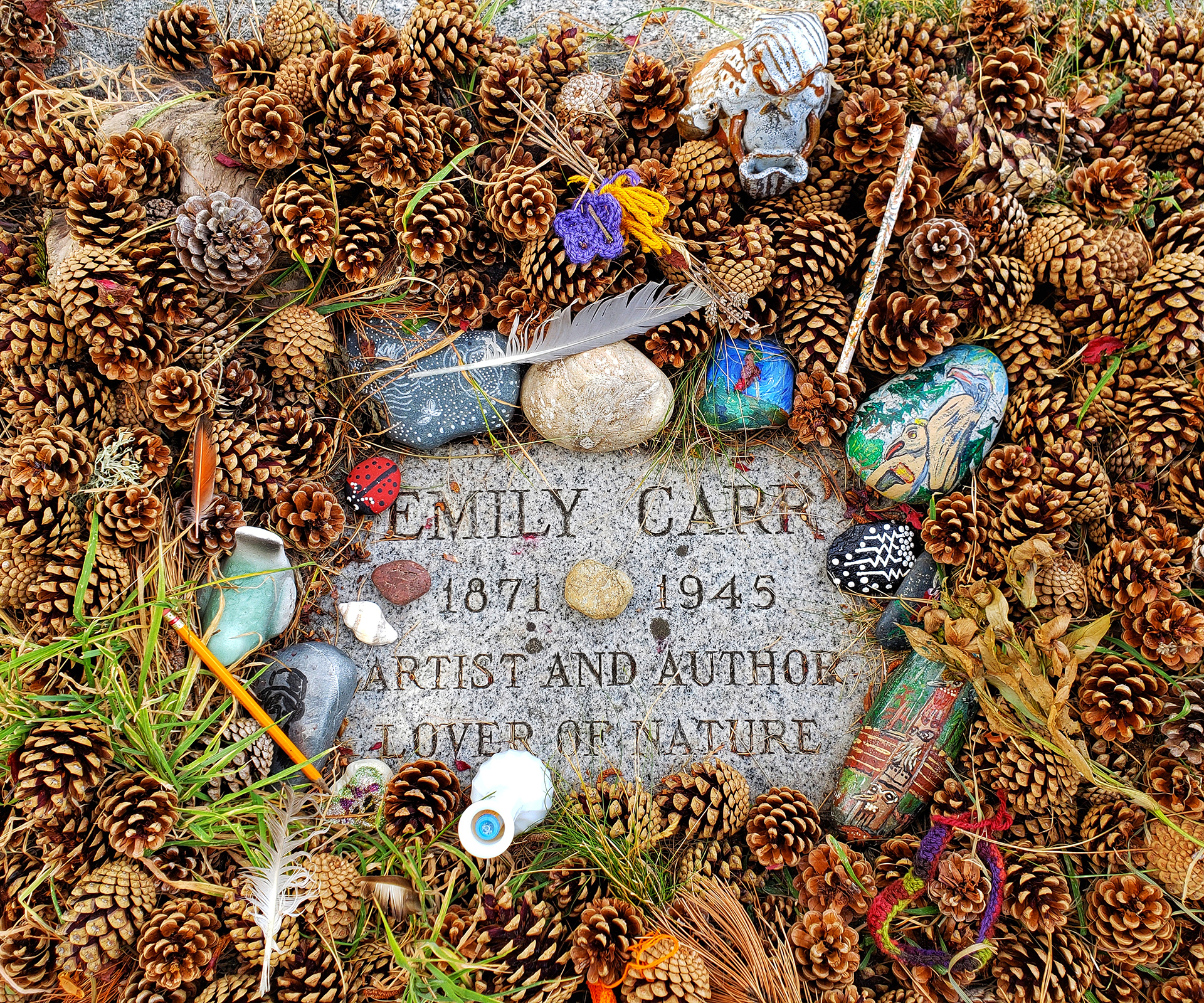 The Grave Of Emily Carr