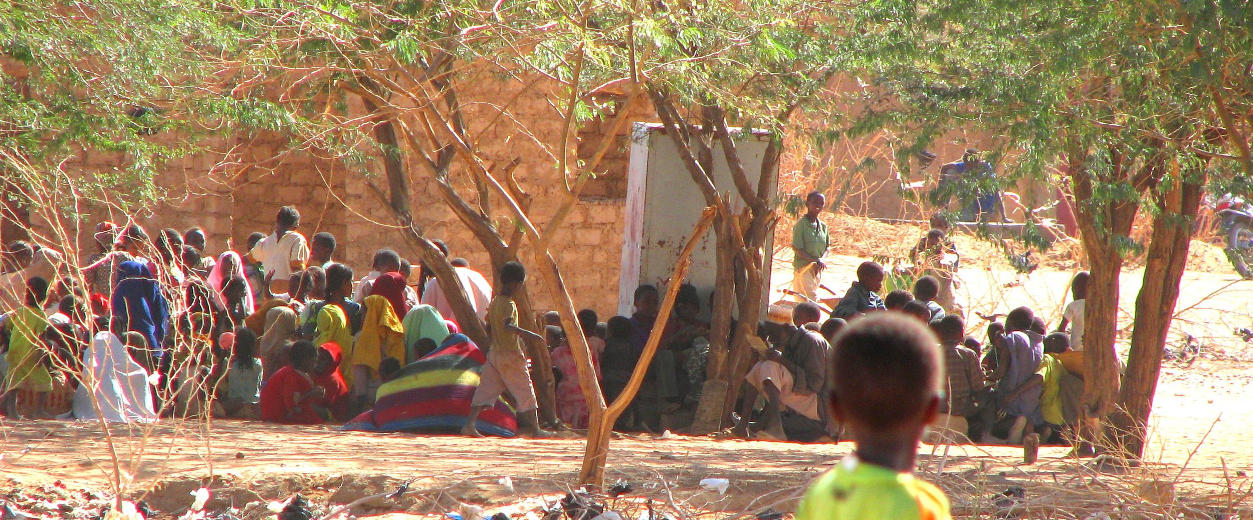 Outdoor Classroom, Agadez, Niger 2007