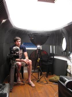 Intimate, Wired, Acoustically Isolated Storytelling and Recording Environment