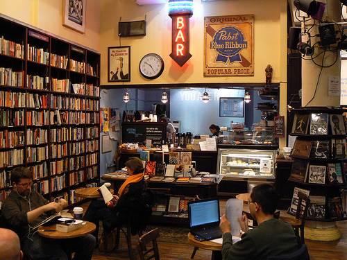Housing   Works Bookstore Café, Crosby Street, NYC