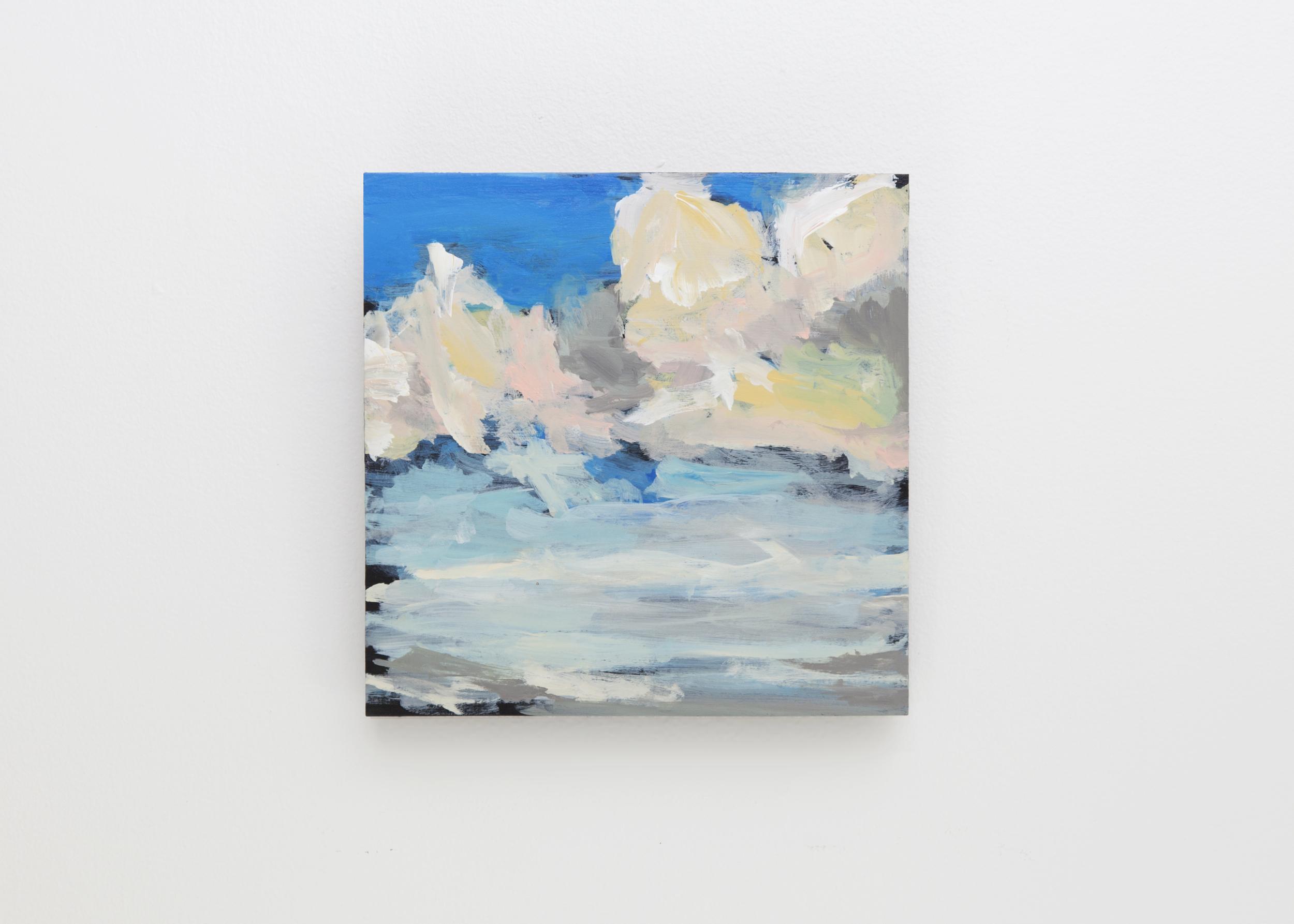 Acrylic. Graphite. Panel Board. 2015  10 x10 inch