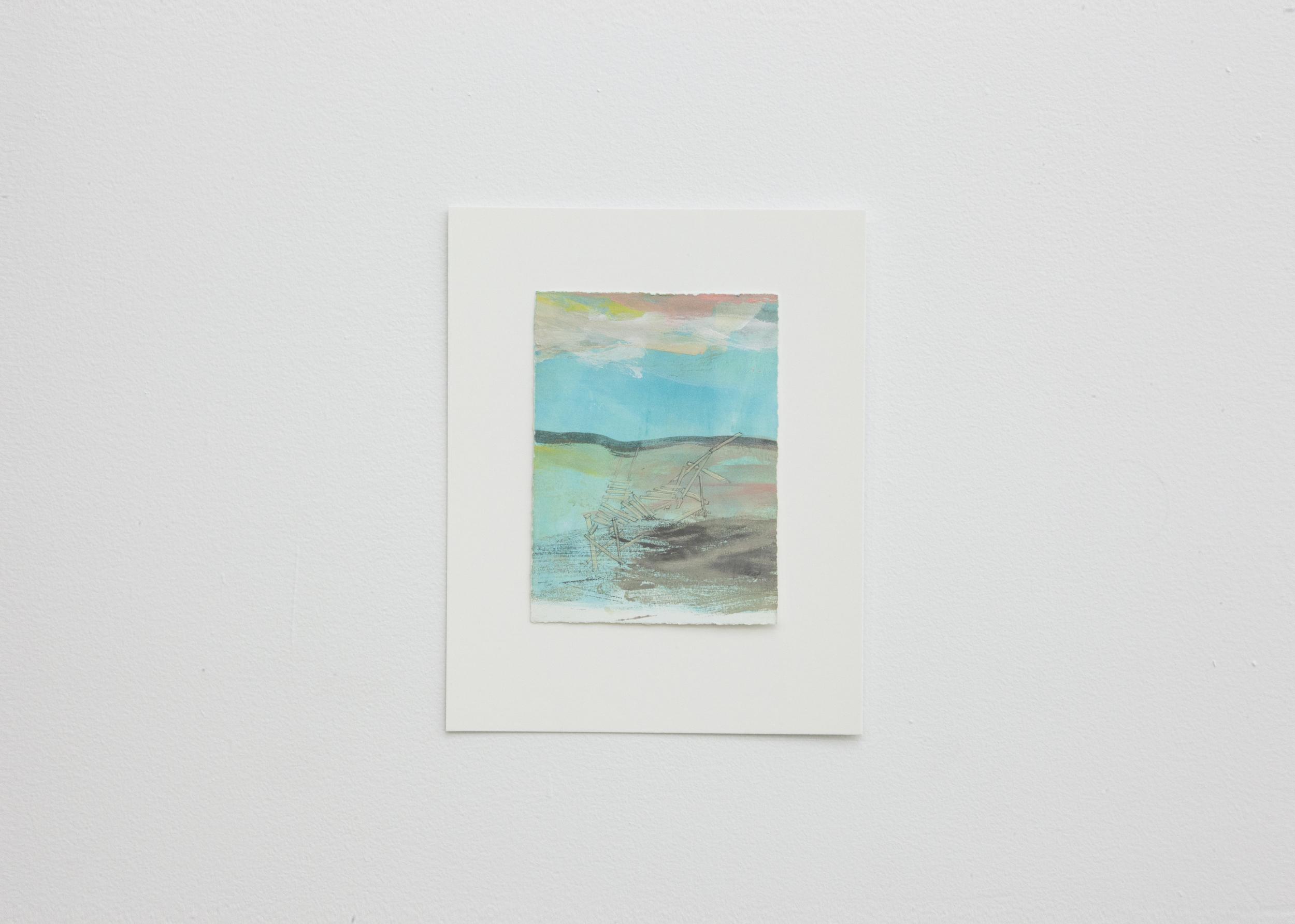 dreaming of fishing platforms II