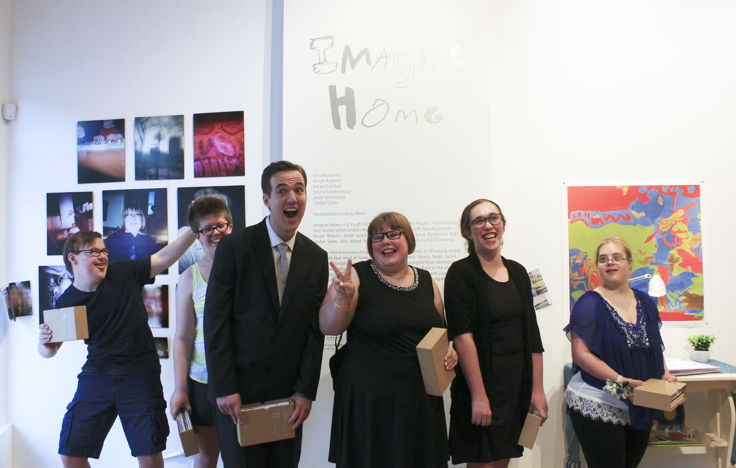 Imagine Home  Opening Reception Mentoring Artists for Women's Art