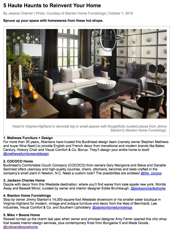 Jezebel | October 2016 | 5 Haute Haunts to Reinvent Your Home