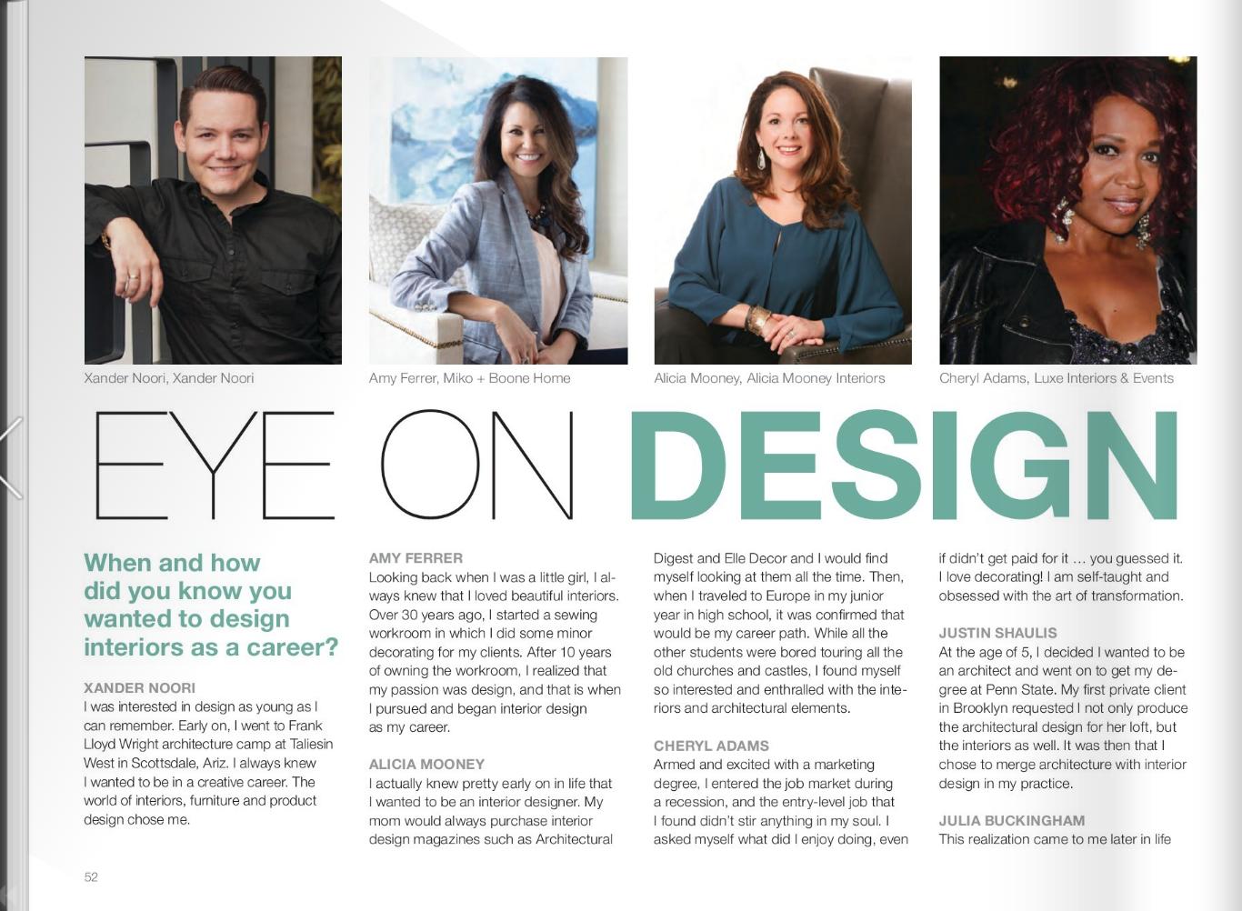 Eye on Design | July 2018