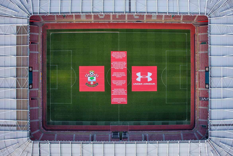 Southampton aerial photo