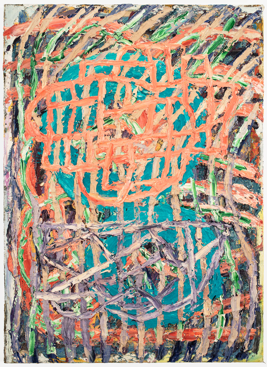 Untitled #27  2010, 23x15 in, oil paint on panel