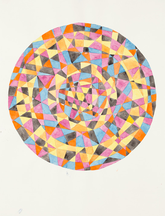 Untitled #4  2012, 30x22 in, watercolor on Arches paper