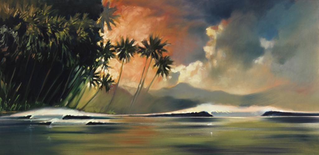Waves and Palms