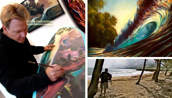Tommy Bahama Surf Art