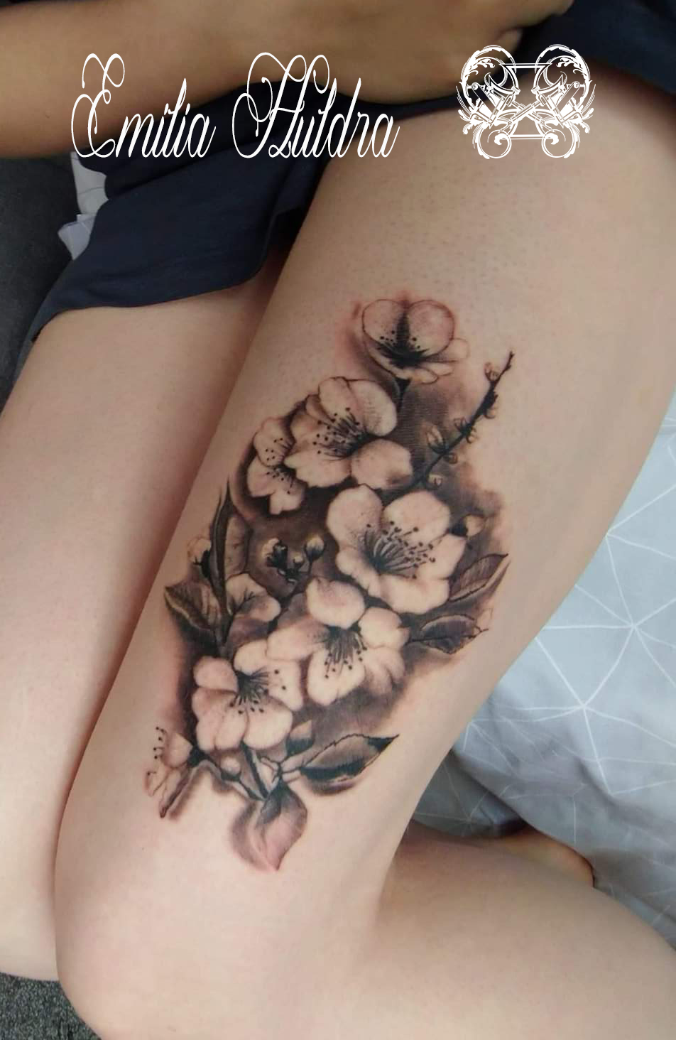 Emilia - b&g cherry blossom on thigh.jpg