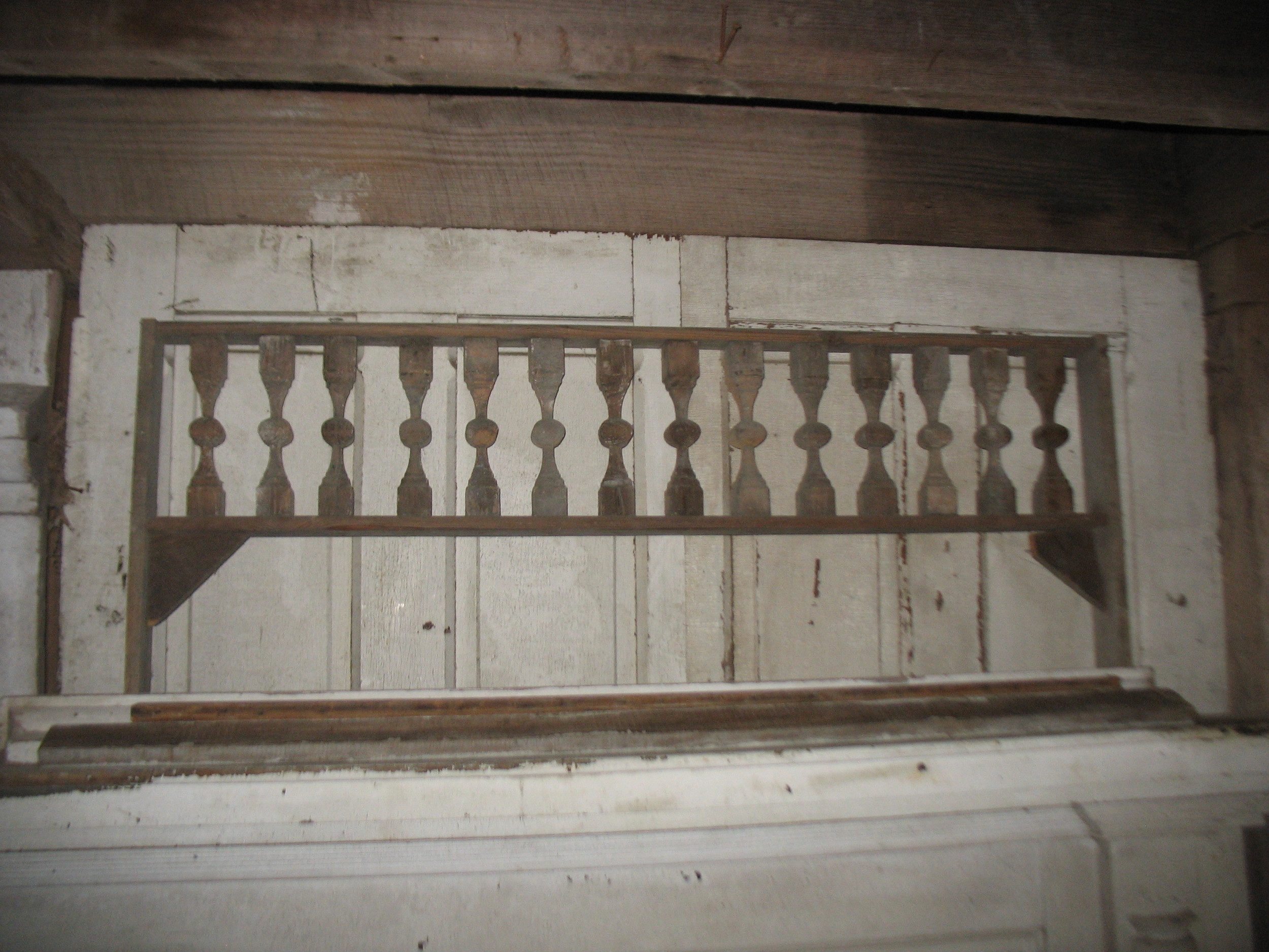 Hand made Victorian Fretwerk from Victorian house in Louisville, Ky. Great wall piece. Measures 53 1/4 inches long X 14 inches wide..  The decorative sections is 11 1/2 inches wide.