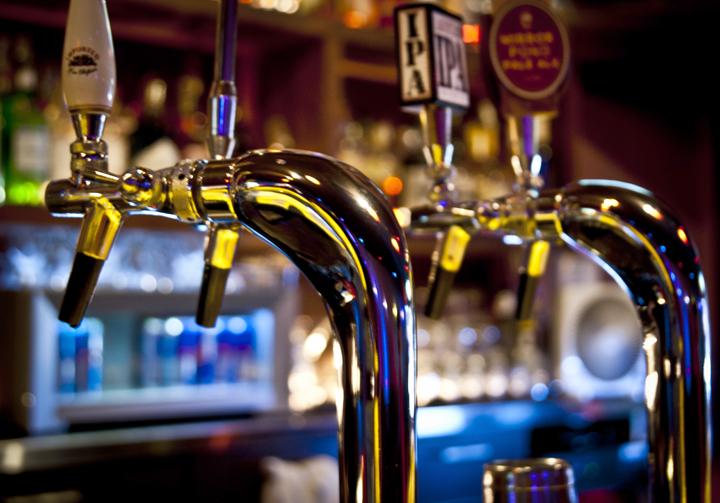Ten premium ice cold beers on tap!