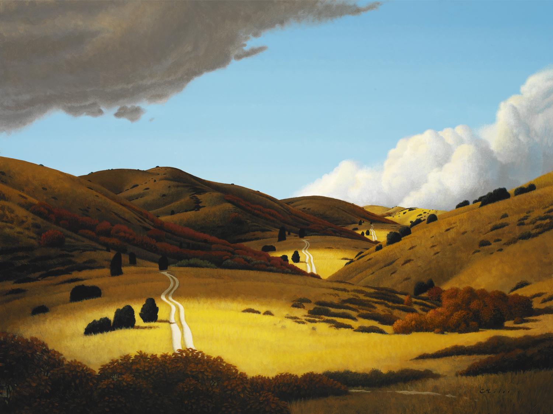 Deja Vú, Acrylic on Panel, 24 x 30