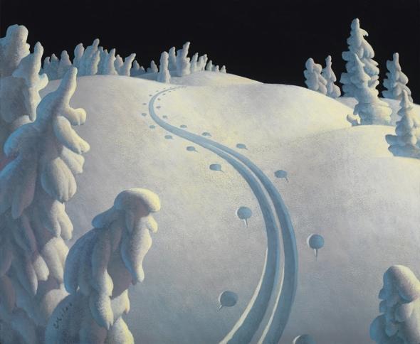 The Journey, Acrylic on Panel,, Acrylic on Panel, 19.75 x 24 inches