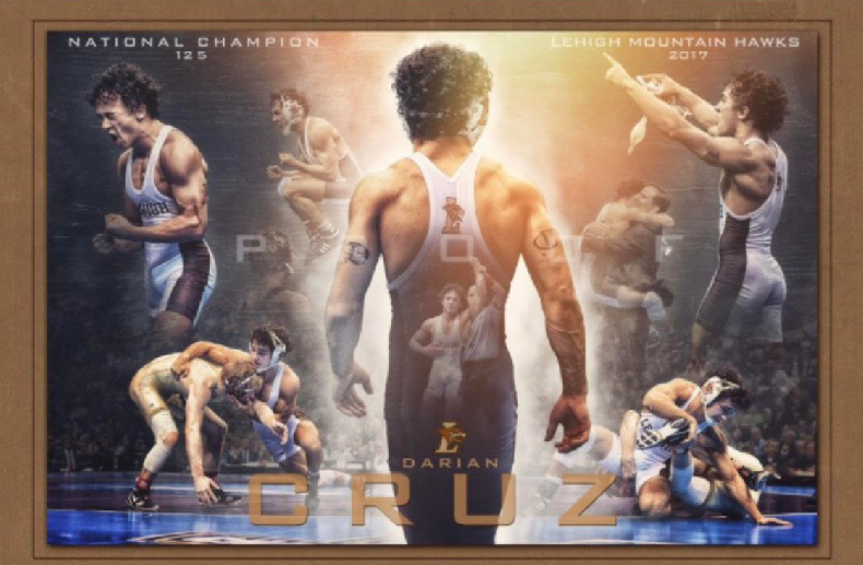 Featuring FREE CLINIC & AUTOGRAPH SESSION WITH NCAA CHAMPION    ~ DARIAN CRUZ ~ LEHIGH UNIVERSITY