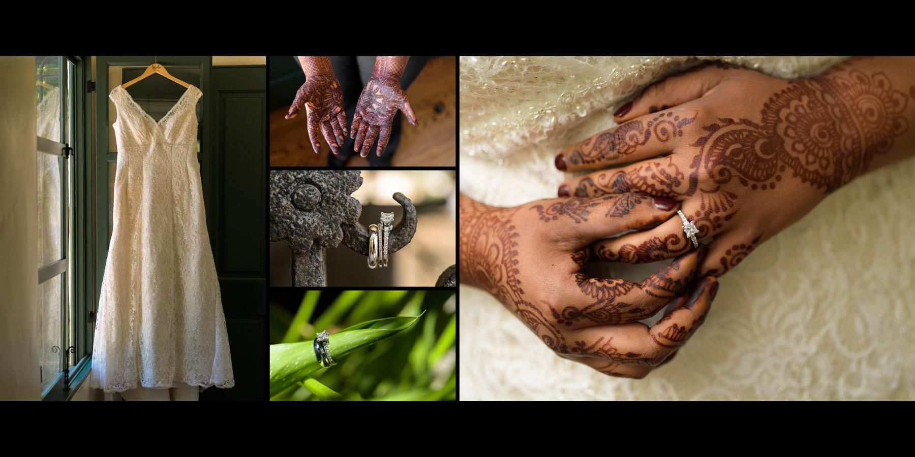 Indian wedding details –Allied Arts Guild –Menlo Park wedding photos –by Bay Area wedding photographer Chris Schmauch