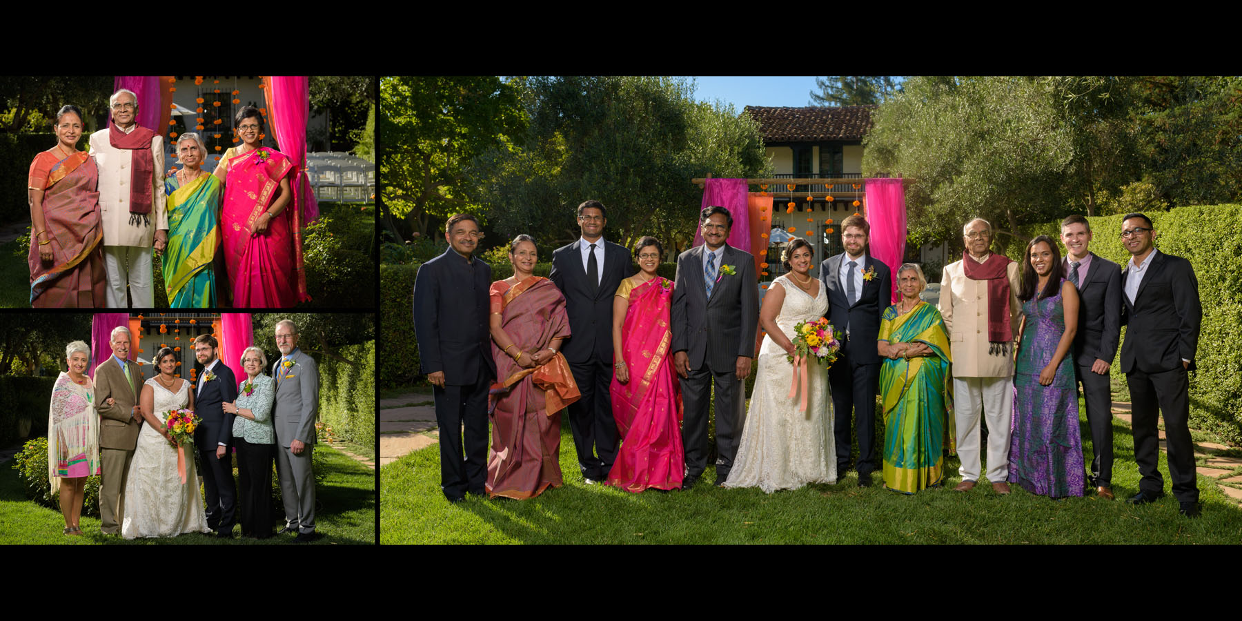 Family formals –Allied Arts Guild –Menlo Park wedding photos –by Bay Area wedding photographer Chris Schmauch
