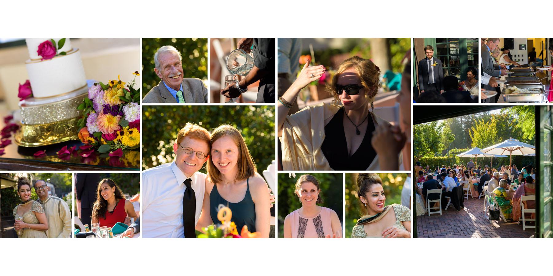 Candid photos –Allied Arts Guild –Menlo Park wedding photos –by Bay Area wedding photographer Chris Schmauch