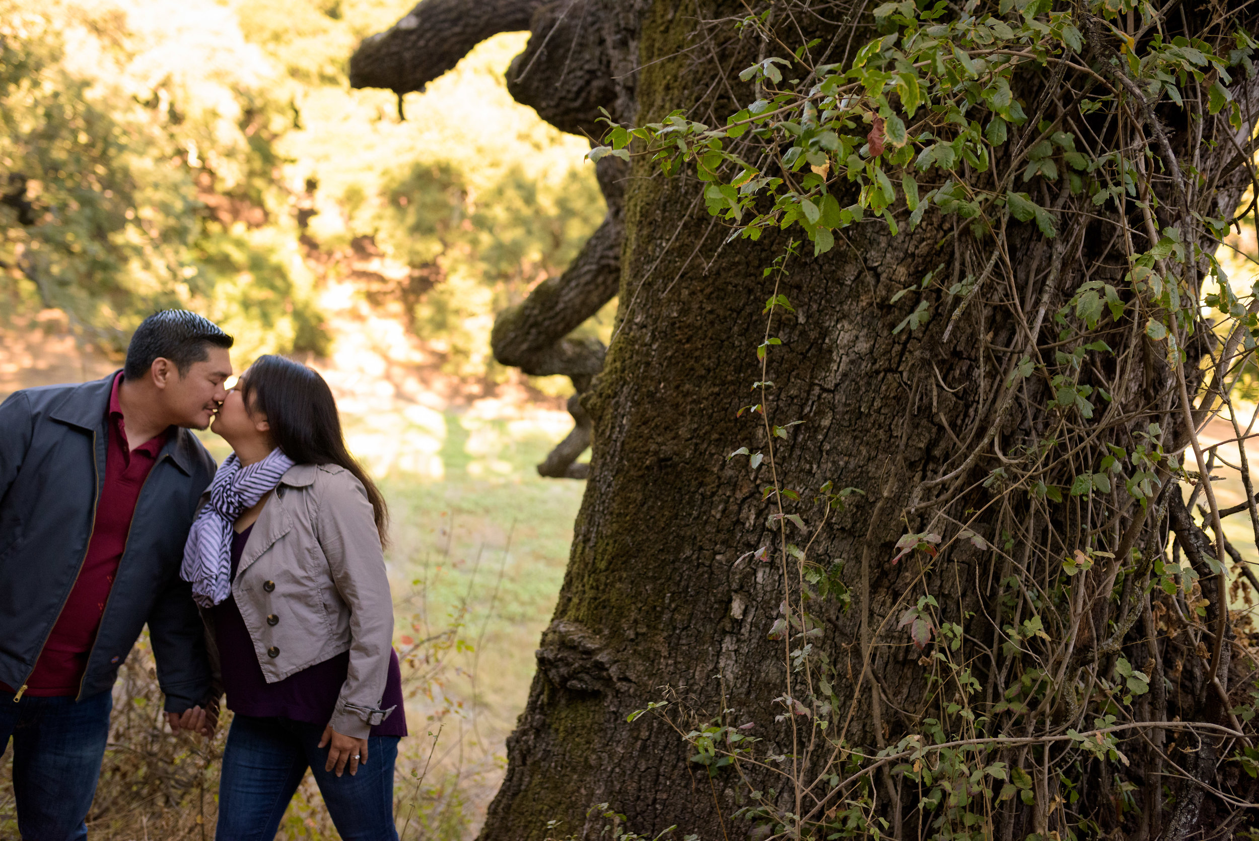 Pichetti Ranch Cupertino Engagement Photos - Photos by Bay Area wedding photographer Chris Schmauch