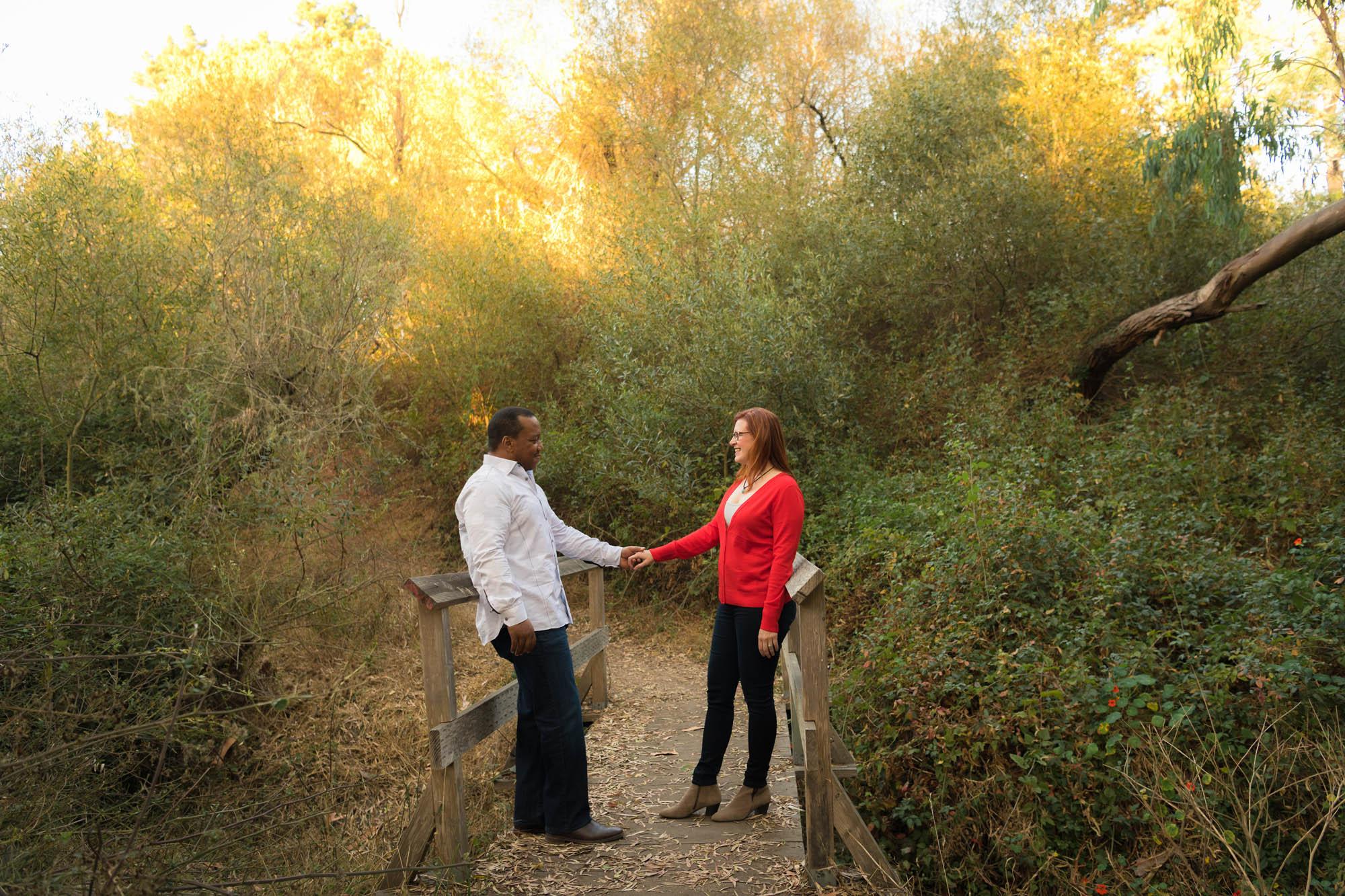 Natural Bridges, Santa Cruz Engagement Photos - Julia and Dennis
