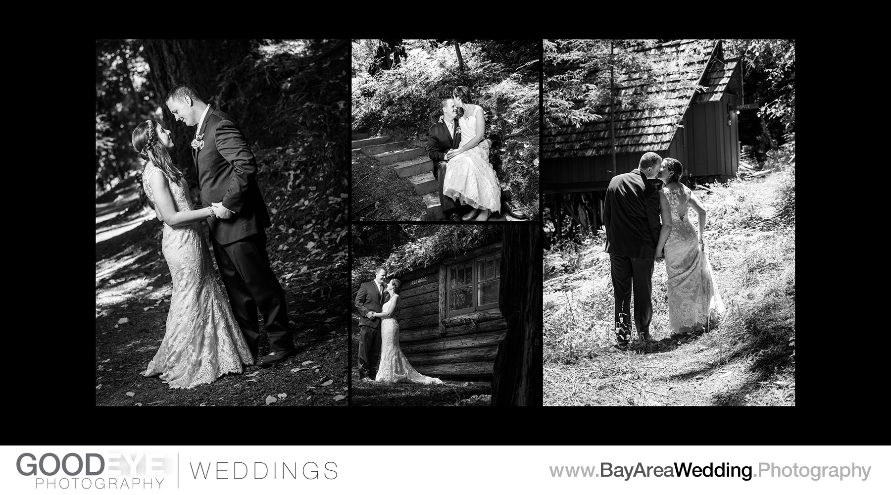 Waterfall Lodge Wedding Photography - Ben Lomond, California - J