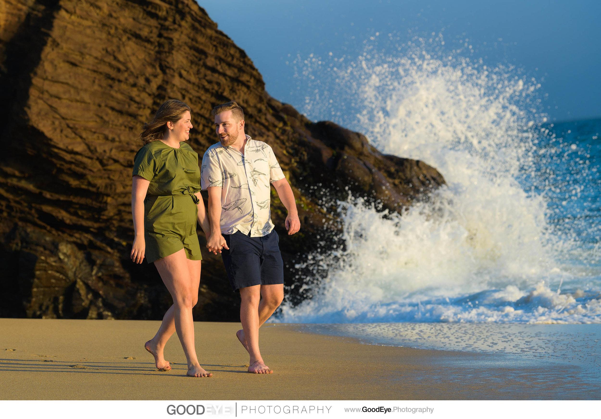 Panther Beach Santa Cruz engagement photos - Kate and Ryan - pho