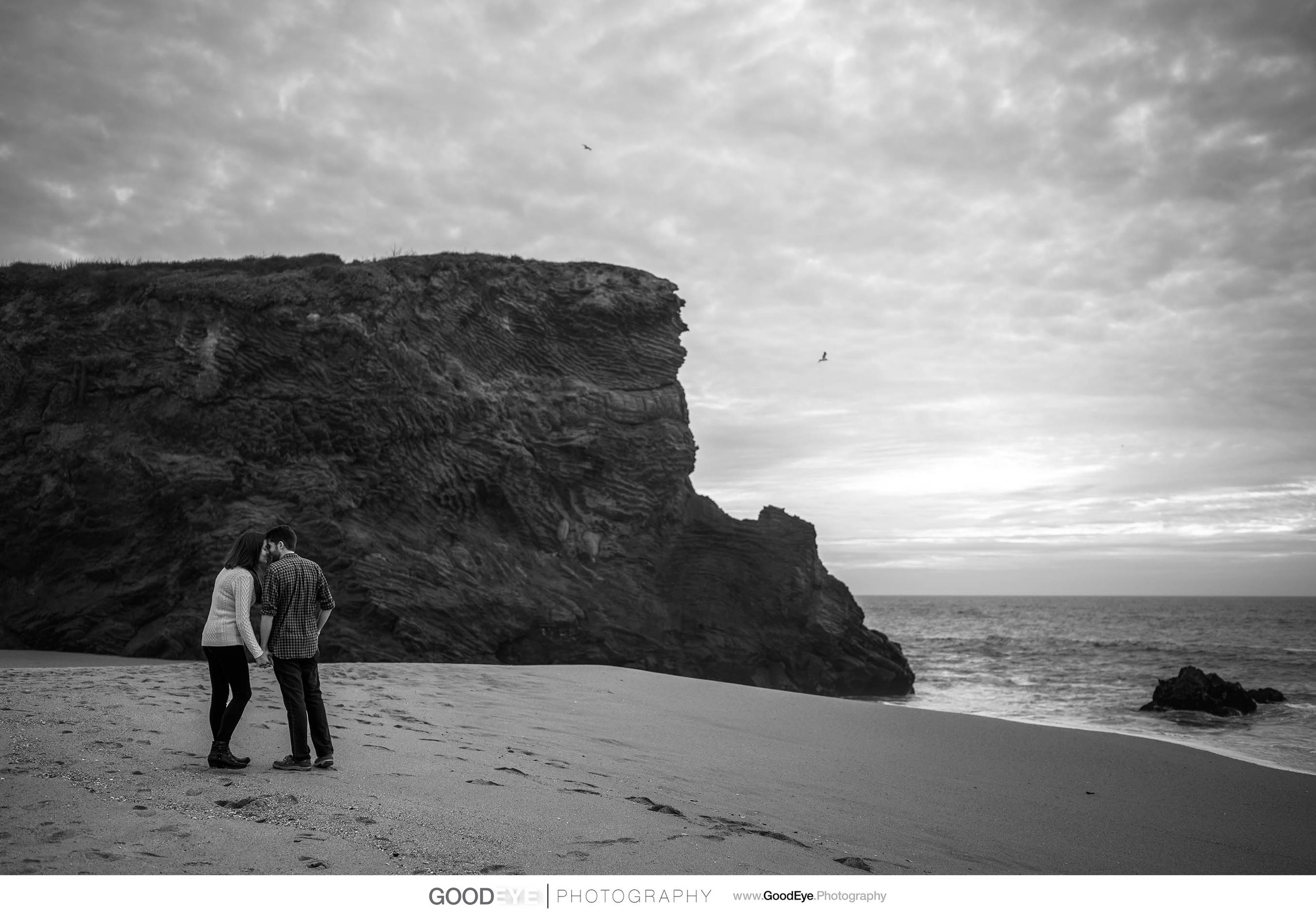 Panther Beach Santa Cruz Engagement - by Bay Area wedding photog