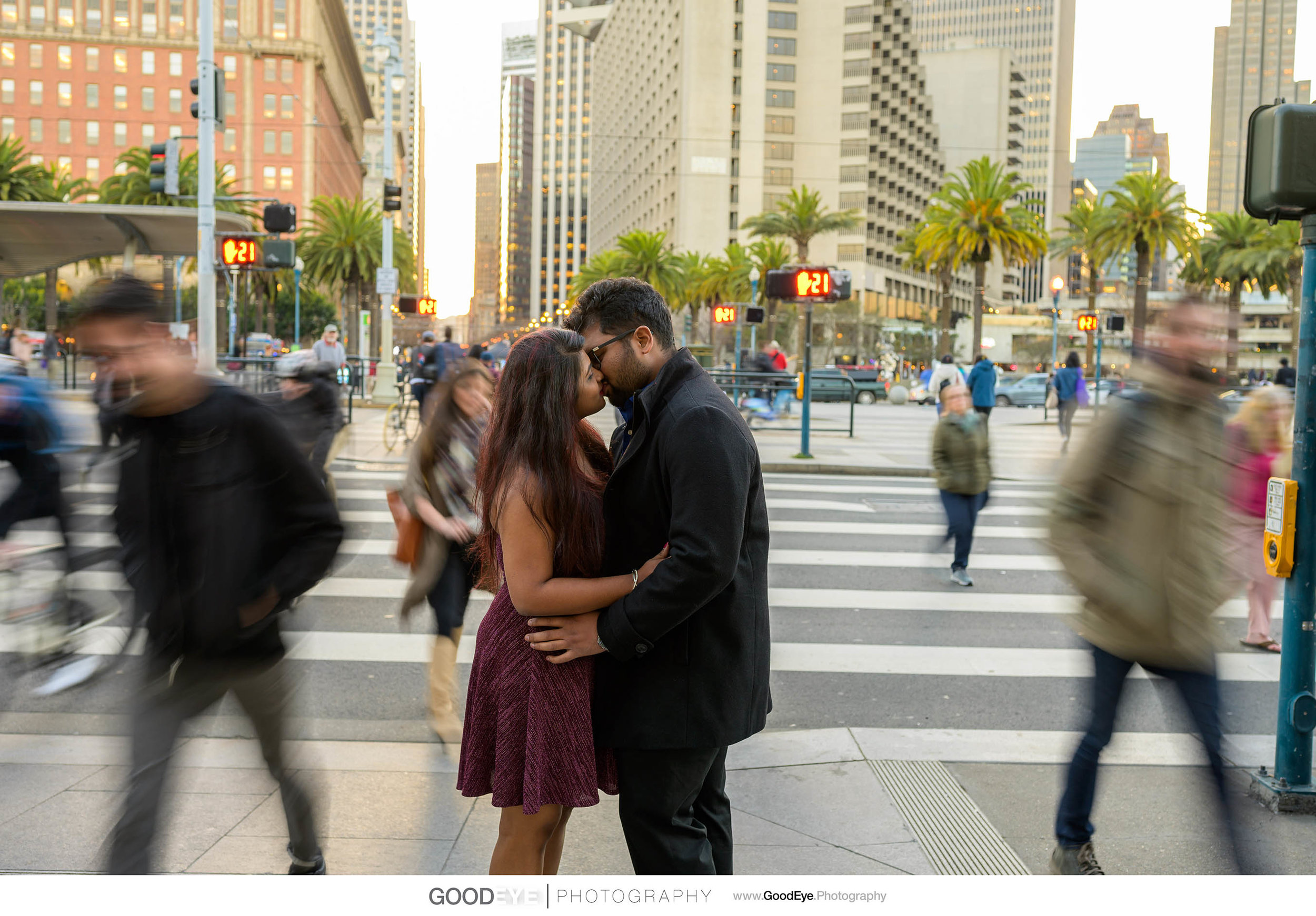 San Francisco Engagement Session by Bay Area wedding photographe